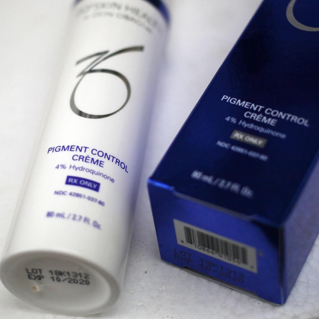 ZO® SKIN HEALTH Pigment Control Crème 4% HQ RX 80ml Kem hiệu chỉnh sắc tố  da ban ngày